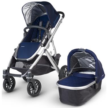 Buy UPPAbaby Vista Stroller Taylor Indigo & Silver at Well ...
