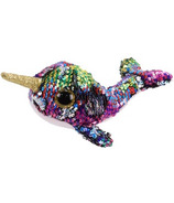 Ty Flippables Calypso the Sequin Multi Narwhal Regular