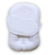 Snuggle Me Original Lounger with Cover Optic White