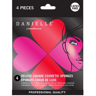 Danielle Heart Blending Sponges 4 Pack