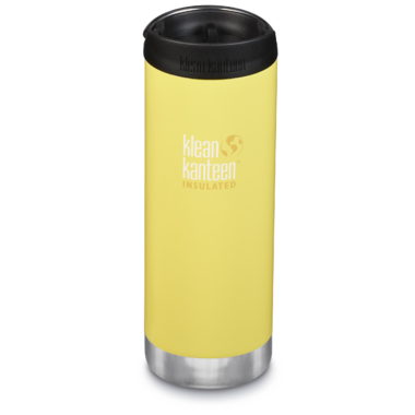 Klean Kanteen TKWide With Cafe Cap Buttercup