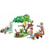 Playmobil Family Fun panda rouge et son habitat