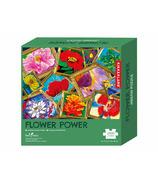Kikkerland Fresh Artist Flower Power Puzzle