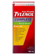 Tylenol Extra Strength Complete Cold, Cough & Flu Syrup