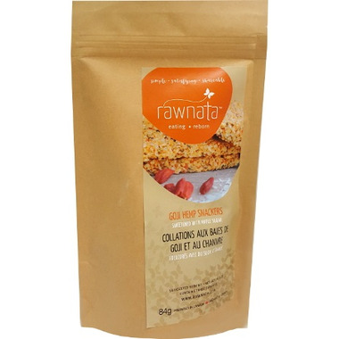 Rawnata Goji Hemp Snackers
