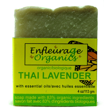 Enfleurage Organics Bar Soap Thai Lavender