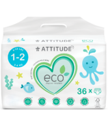 ATTITUDE Couches pour bébé Eco, tailles1à6