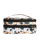 Lug Double Decker Cosmetic Case Palm Sunset