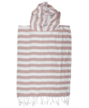 House of Jude Turkish Towel Child Poncho Fawn