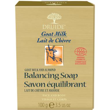 Druide Goat Milk & Almond Balancing Bar Soap