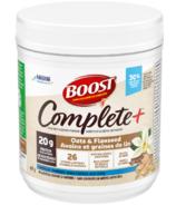 Boost Complete+ Oat Powder Vanilla