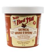 Tasse de flocons d'avoine au sucre brun d'érable Bob's Red Mill
