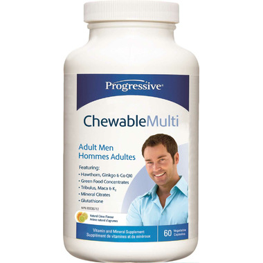 Progressive Chewable Multi for Adult Men