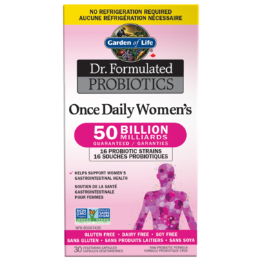 Garden of Life Dr. Formulated Probiotics Once Daily Women\'s