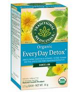 Traditional Medicinals Organic Everyday Detox Dandelion