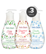 Live Clean Moisturizing Liquid Hand Soap Holiday Bundle