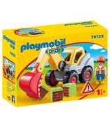 Playmobil 1.2.3. Shovel Excavator
