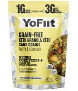 Yofiit Low Carb Granola With Adaptogens Vanilla Nutmeg
