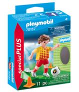 Playmobil SpecialPLUS Soccer Player with Goal