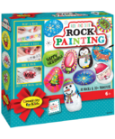 Creativity for Kids Holiday Hide and Seek Rock Painting