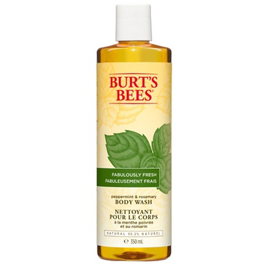 Burt\'s Bees Fabulously Fresh Peppermint & Rosemary Body Wash