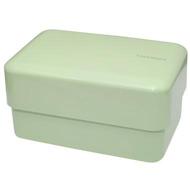Takenaka Bento-Box Rectangle Pistachio Green Lunch Box