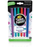 Crayola Take Note Felt Tip Pens