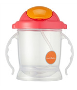 Innobaby Sippin' Smart EZ Flow Straw Sippy Pink