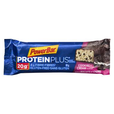 PowerBar ProteinPlus 20g Bar Cookies n Cream