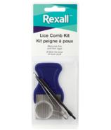 Kit de peigne à poux Rexall