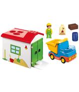 Camion de chantier Playmobil avec garage