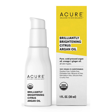 Acure Brilliantly Brightening Citrus Argan Oil