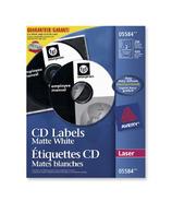 Avery CD/DVD White Laser Labels