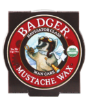 Badger Navigator Class Man Care Mustache Wax