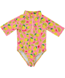 BIRDZ Children & Co. Lemonade Surfer Swimsuit Pink