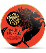 Willie's Cacao Praline Truffles Sure De Lago Dark Chocolate with Sea Salt