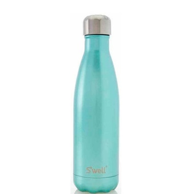 S\'well Sweet Mint Stainless Steel Water Bottle Glitter Collection