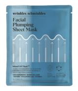 Wrinkles Schminkles InfuseFAST Facial Plumping Sheet Mask