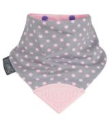 Cheeky Chompers Neckerchew Polka Dot Pink