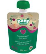 Baby Gourmet Banana, Apple and Beet Berry Baby Food