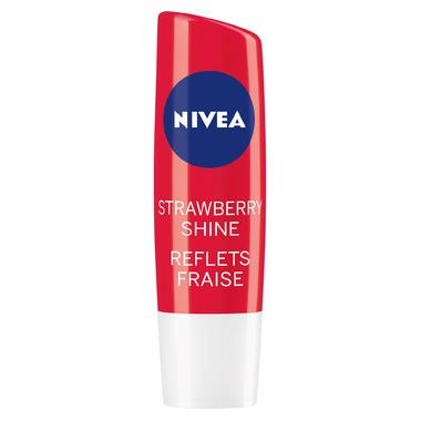 Nivea Strawberry Shine Tinted Caring Lip Balm Sticks