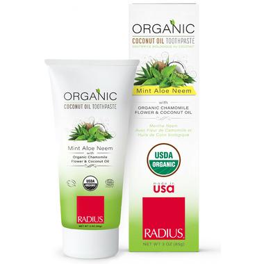 Radius Organic Mint Aloe Neem Toothpaste