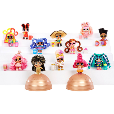 L.O.L. Surprise #Hairvibes Dolls and Mix & Match Hair Pieces Assorted