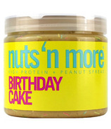 Nuts n More Birthday Cake Peanut Butter High Protein Spread