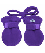 Calikids Fleece Baby Mitts Imperial Purple