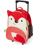 Skip Hop Zoo Kids Rolling Luggage Fox