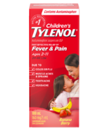 Tylenol Children's Acetaminophen Suspension Liquid