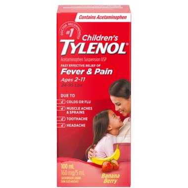 Tylenol Children\'s Acetaminophen Suspension Liquid