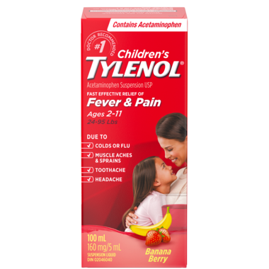 Tylenol Children\'s Cold & Stuffy Nose Suspension Liquid