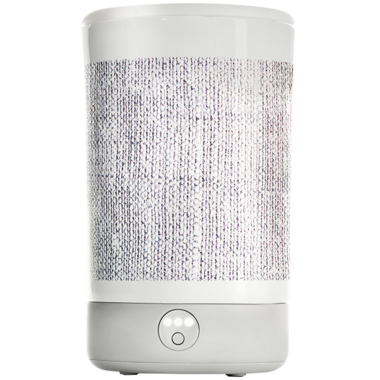 Happy Wax Signature Warmer Gray Linen Print